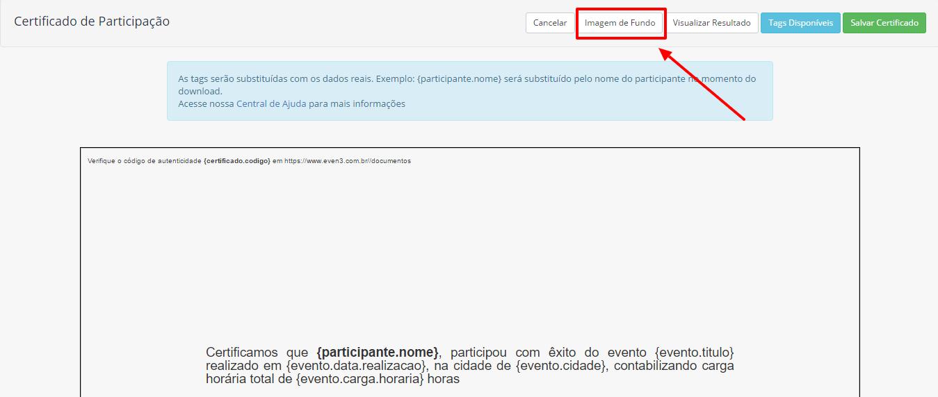 Como Emitir Certificado De Participação Para Participante